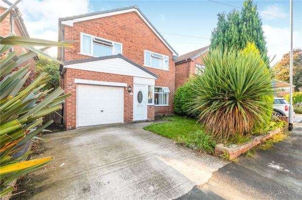 4 Bedrooms Detached House for sale in Gayhurst Avenue, Fearnhead, Warrington