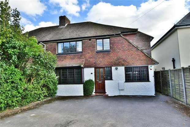 4 Bedrooms Semi Detached House for sale in The Poynings, Richings Park, Buckinghamshire