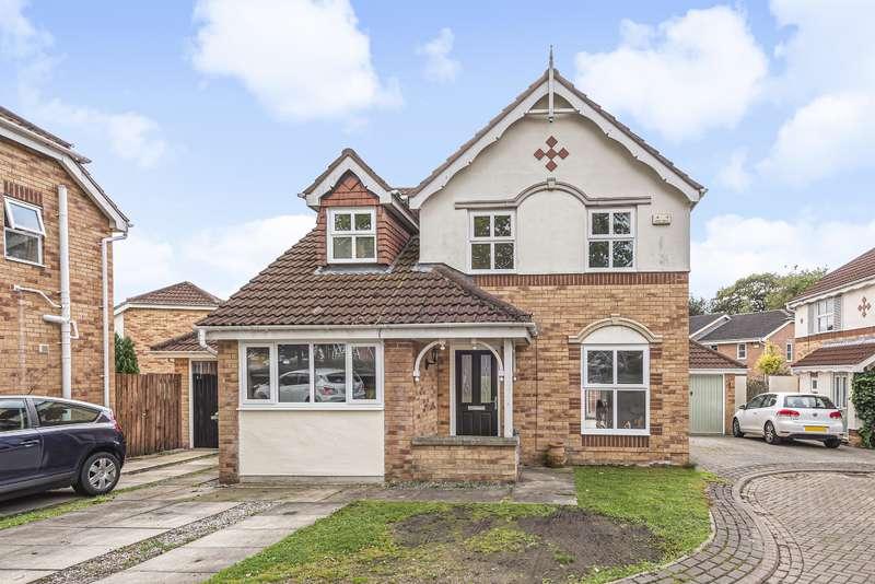 3 Bedrooms Detached House for sale in Woodlea Gate, Meanwood, Leeds, LS6 4SR