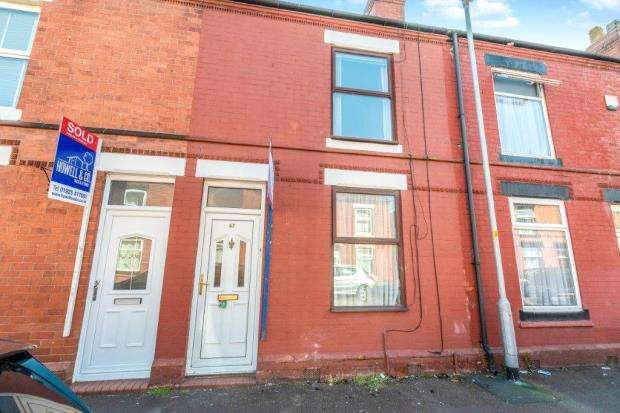 2 Bedrooms Terraced House for sale in Oxford Street, Warrington, Cheshire