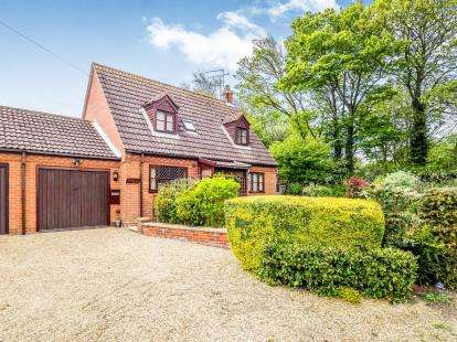 3 Bedrooms Link Detached House for sale in Happisburgh, Norwich, Norfolk