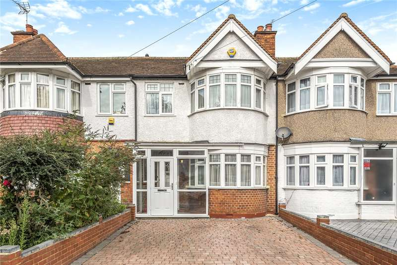 3 Bedrooms Terraced House for sale in Torbay Road, Harrow, HA2