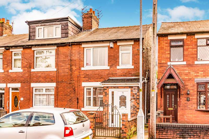 3 Bedrooms End Of Terrace House for sale in Prince Edward Avenue, Denton, Manchester, Greater Manchester, M34