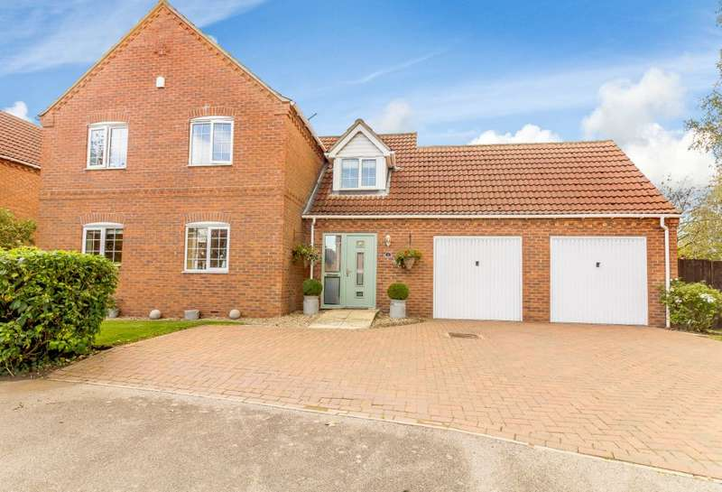 4 Bedrooms Detached House for sale in West Field Lane, Thorpe-on-the-Hill, Lincoln, Lincolnshire LN69BF