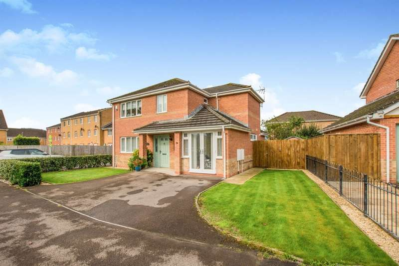 4 Bedrooms Detached House for sale in Half Acre Court, Caerphilly