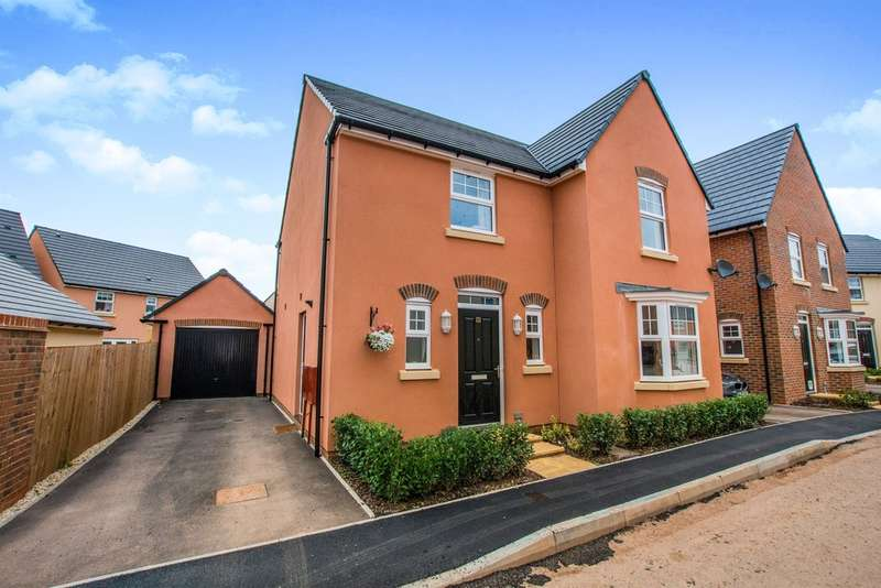 4 Bedrooms Detached House for sale in Midsummer Way, Monmouth