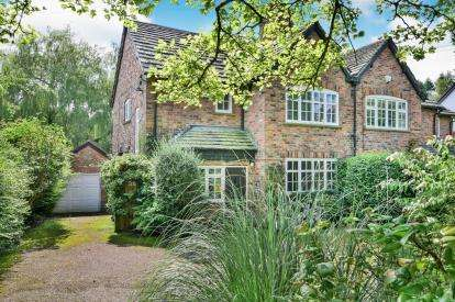 4 Bedrooms Semi Detached House for sale in Heyes Lane, Alderley Edge, Cheshire, Uk