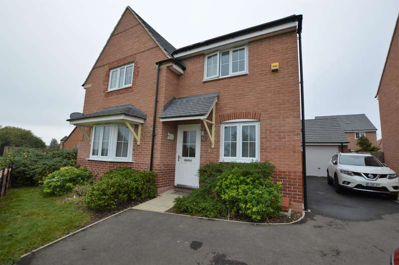 4 Bedrooms Detached House for sale in Windlass Drive, Wigston, LE18 4NW