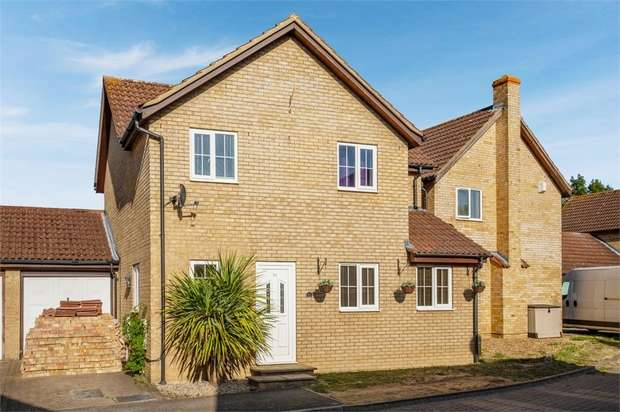 4 Bedrooms Detached House for sale in Chevalier Grove, Crownhill, Milton Keynes, Buckinghamshire