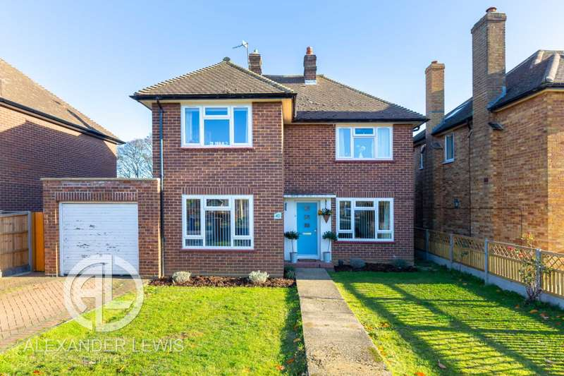 4 Bedrooms Detached House for sale in Highfield, Letchworth Garden City, SG6 3PZ