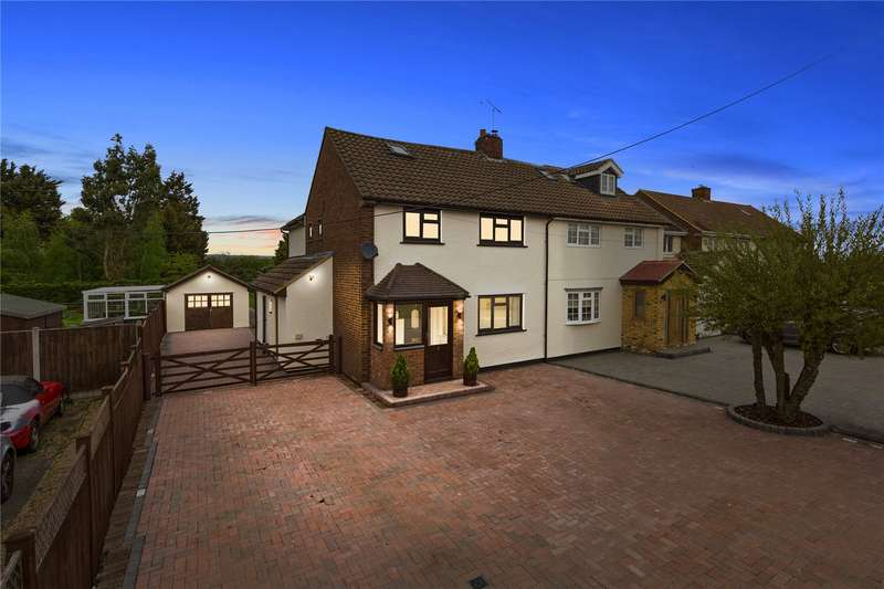 5 Bedrooms Semi Detached House for sale in Bury Farm Cottages, St. Marys Lane, Upminster, RM14