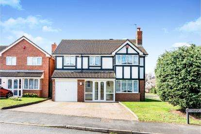 4 Bedrooms Detached House for sale in Abbotsford Road, Boley Park, Lichfield, Staffordshire
