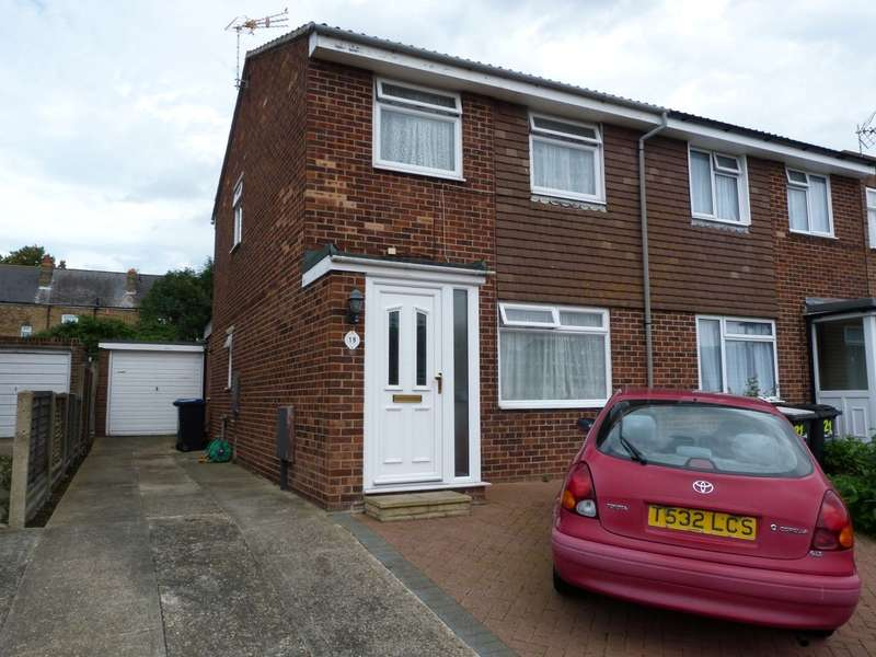 3 Bedrooms Semi Detached House for sale in Sewell Close, Birchington, CT7