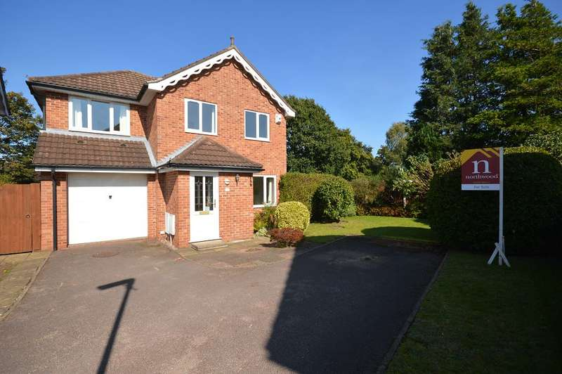 4 Bedrooms Detached House for sale in Crabmill Drive, Sandbach, CW11 3HX
