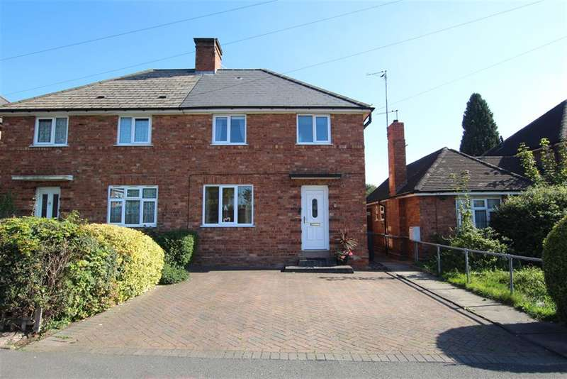 3 Bedrooms Semi Detached House for sale in Ebrook Road, Sutton Coldfield, B72 1NX