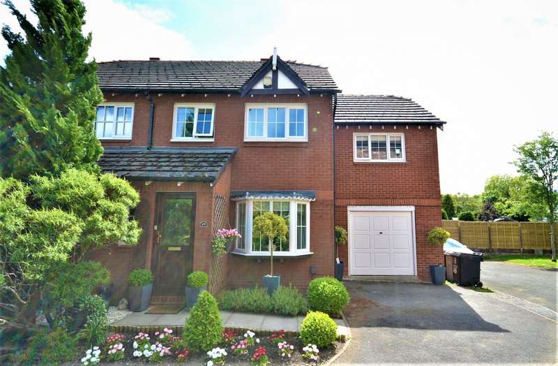 4 Bedrooms Semi Detached House for sale in Home Farm Avenue, Macclesfield