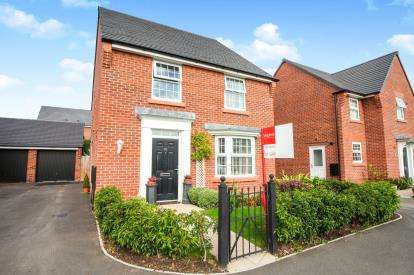 4 Bedrooms Detached House for sale in Dunlin Way, Winsford, Cheshire