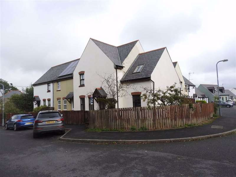 3 Bedrooms End Of Terrace House for sale in Maes Yr Orsaf, CILGERRAN, Pembrokeshire