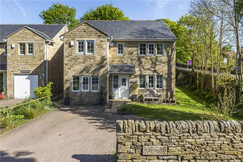 4 Bedrooms Detached House for sale in Moorhouse Lane, Oxenhope, Keighley, West Yorkshire