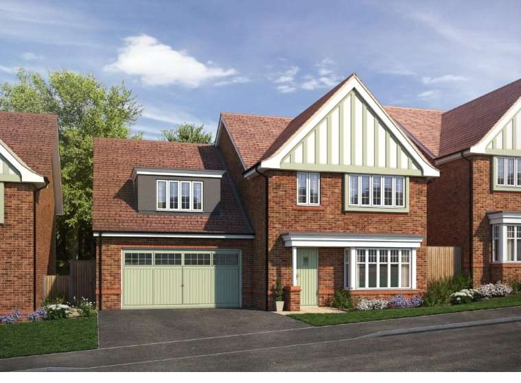 5 Bedrooms Detached House for sale in Moss Lea, Bolton, Greater Manchester, BL1
