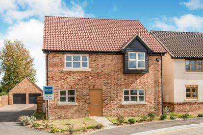 4 Bedrooms Detached House for sale in Mill Stone Green, East Wretham