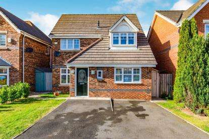 3 Bedrooms Detached House for sale in Egglestone Drive, Eaglescliffe, Stockton-On-Tees