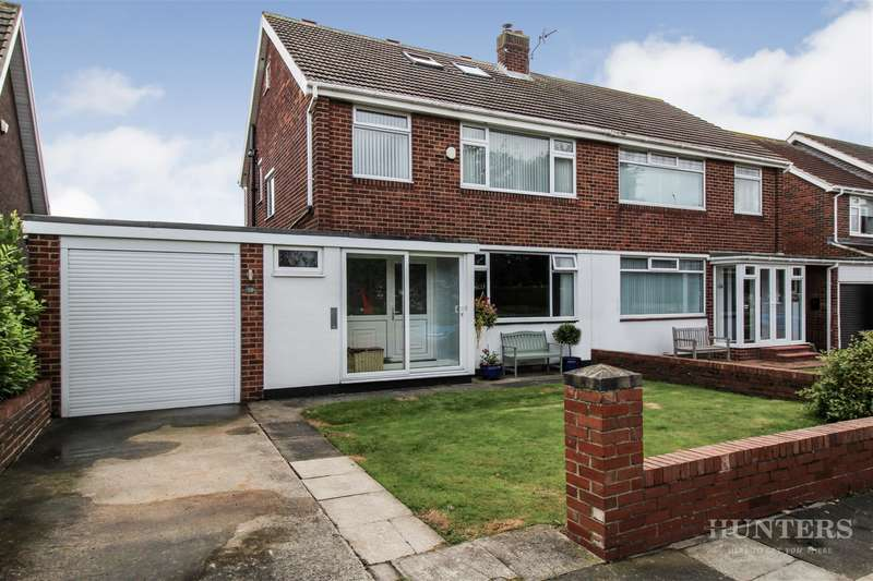 4 Bedrooms Semi Detached House for sale in Lonsdale Avenue, South Bents, Sunderland, SR6 8AY