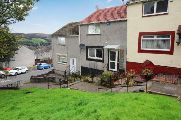2 Bedrooms Terraced House for sale in Braehead, Bonhill, Dunbartonshire, G83 9NE