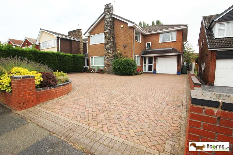 5 Bedrooms Detached House for sale in Greaves Avenue, Walsall