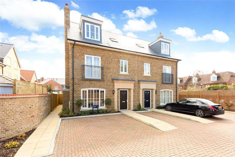 4 Bedrooms Semi Detached House for sale in Portland Crescent, Marlow, Buckinghamshire, SL7