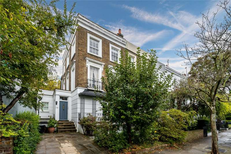 4 Bedrooms Semi Detached House for sale in Northumberland Place, London, W2