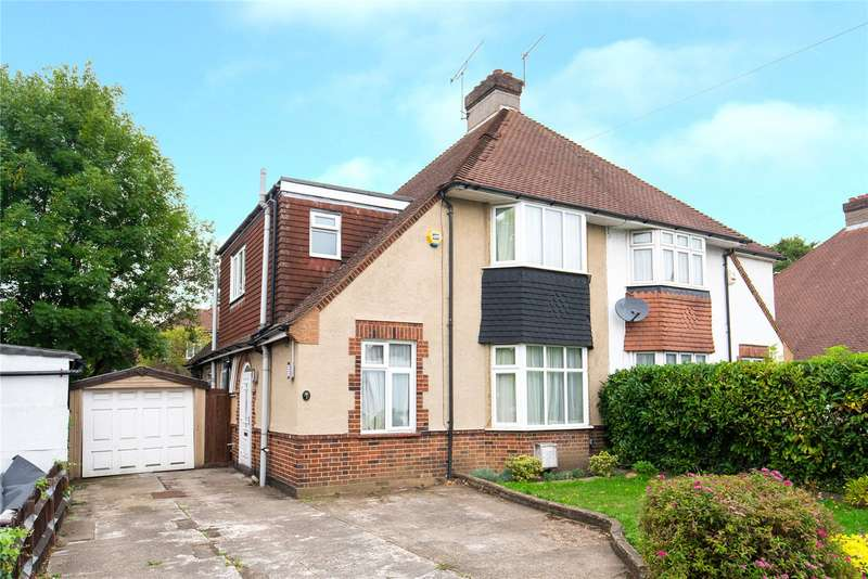 3 Bedrooms Semi Detached House for sale in Marsh Lane, Mill Hill, London, NW7