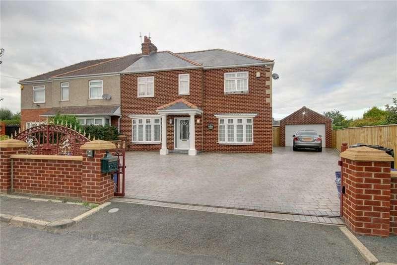 4 Bedrooms Semi Detached House for sale in Hartlea Avenue, Darlington, DL1