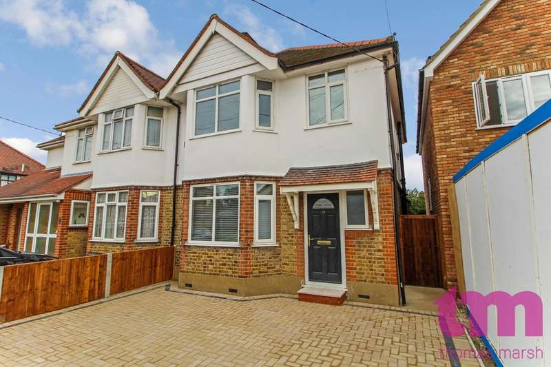 3 Bedrooms Semi Detached House for sale in Wilsman Road, South Ockendon