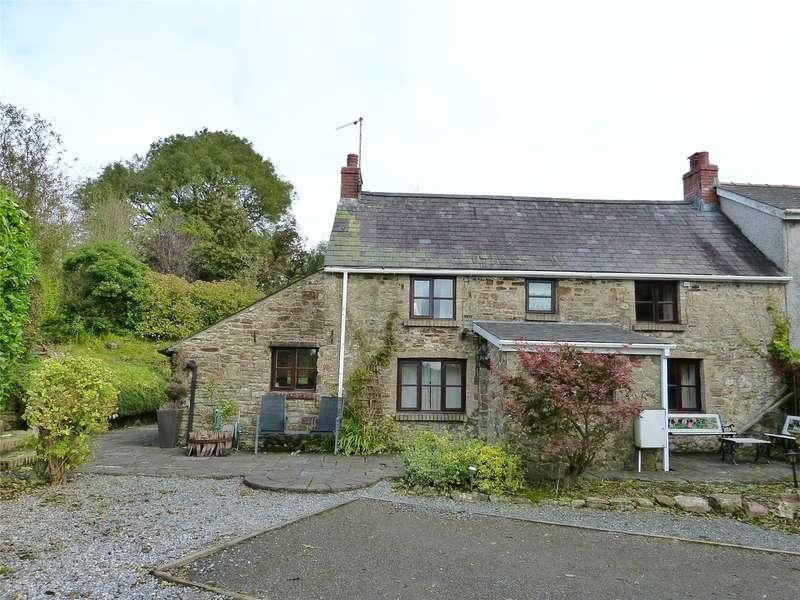3 Bedrooms Semi Detached House for sale in Church Farm Cottage, Reynalton, Kilgetty, Pembrokeshire