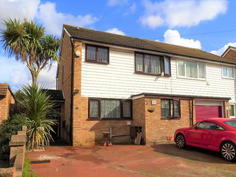 4 Bedrooms Semi Detached House for sale in Cambridge Close, Harmondsworth, UB7 0AN