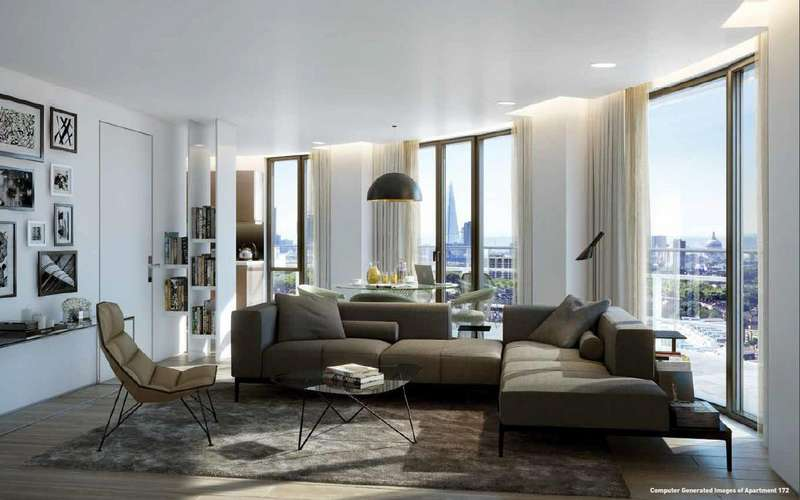 2 Bedrooms Apartment Flat for sale in Cylinder Building, City North, Finsbury Park, N4