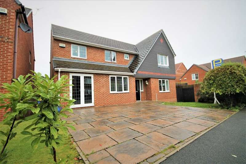 4 Bedrooms Detached House for sale in Meridian Way, Stockton-On-Tees, TS18