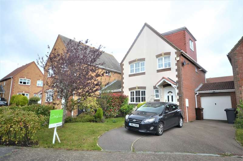 4 Bedrooms Detached House for sale in Medina Drive, Stone Cross, BN24