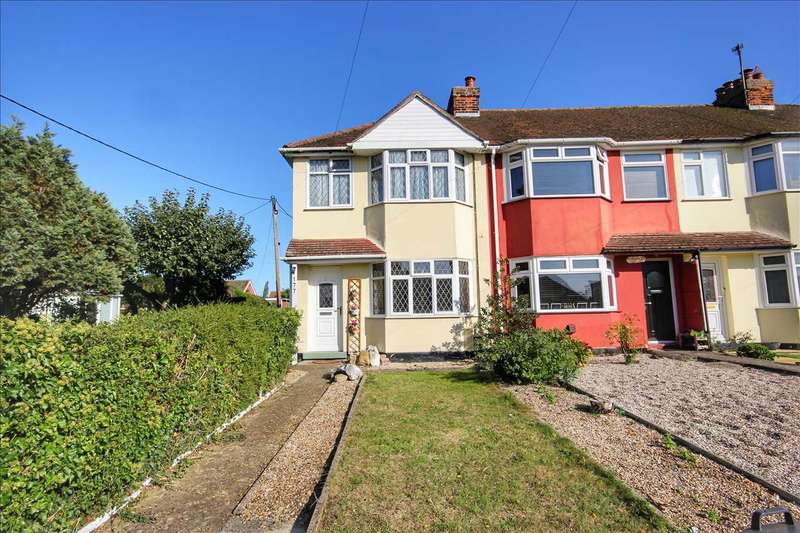 2 Bedrooms End Of Terrace House for sale in Bures Road, Great Cornard, Sudbury
