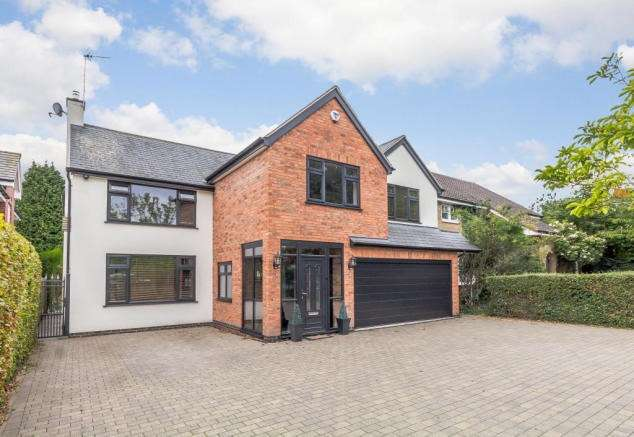 5 Bedrooms Detached House for sale in Lutterworth Road, Whitestone, Nuneaton, CV11