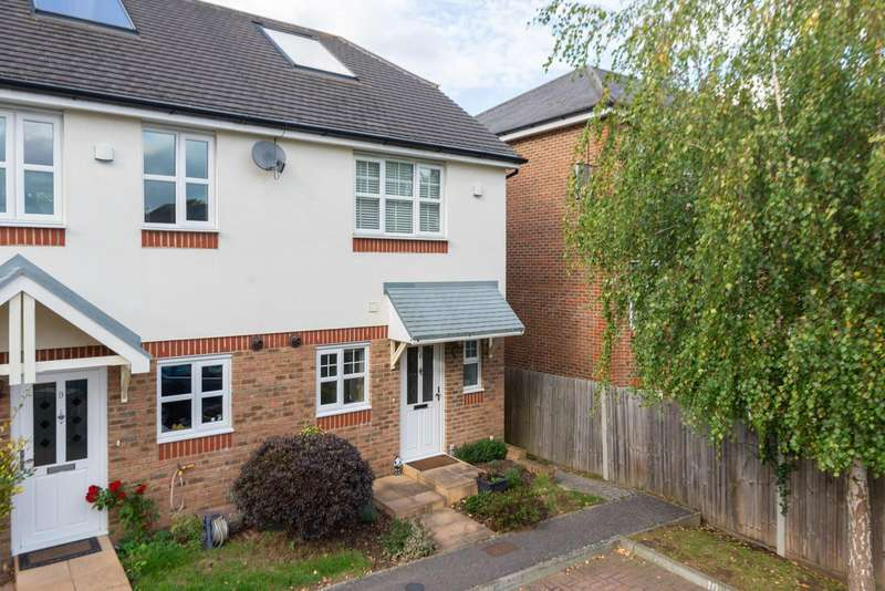 2 Bedrooms End Of Terrace House for sale in Brunswick Mews, Maidstone, ME16