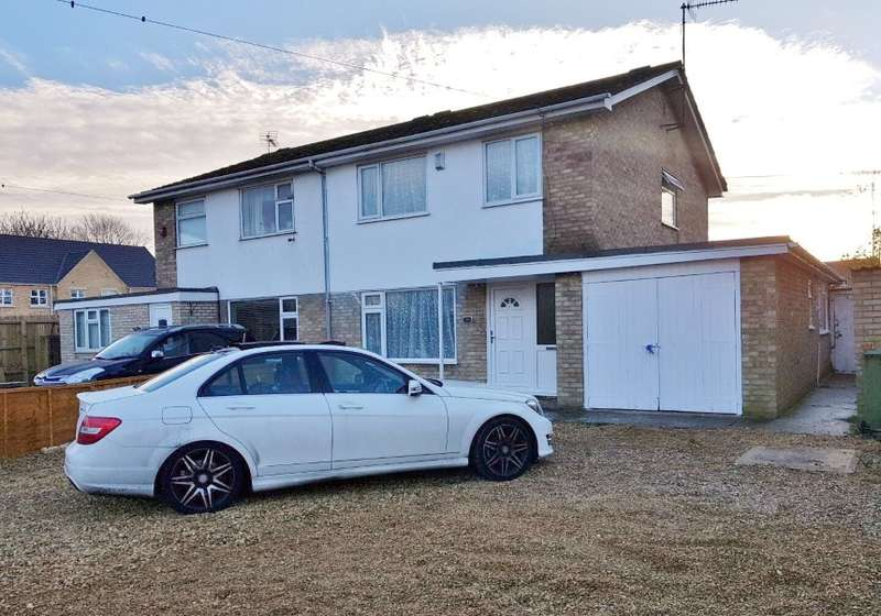 3 Bedrooms Semi Detached House for sale in Lerowe Road, Wisbech, Cambridgeshire, PE13 3QH
