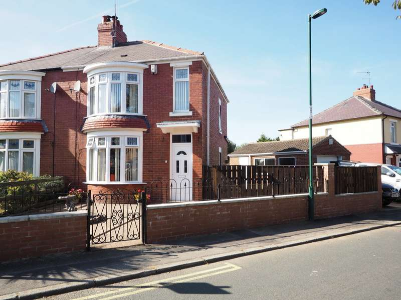 3 Bedrooms Semi Detached House for sale in Pine Road, Guisborough TS14