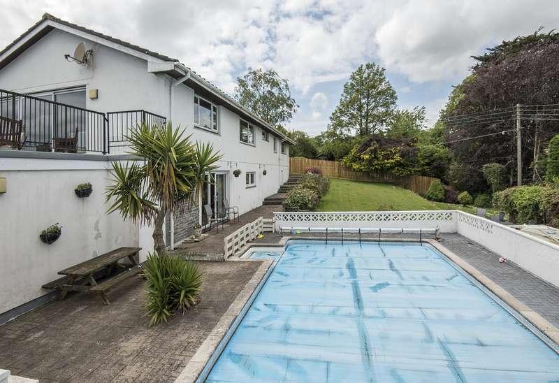 5 Bedrooms Detached House for sale in Feock TR3