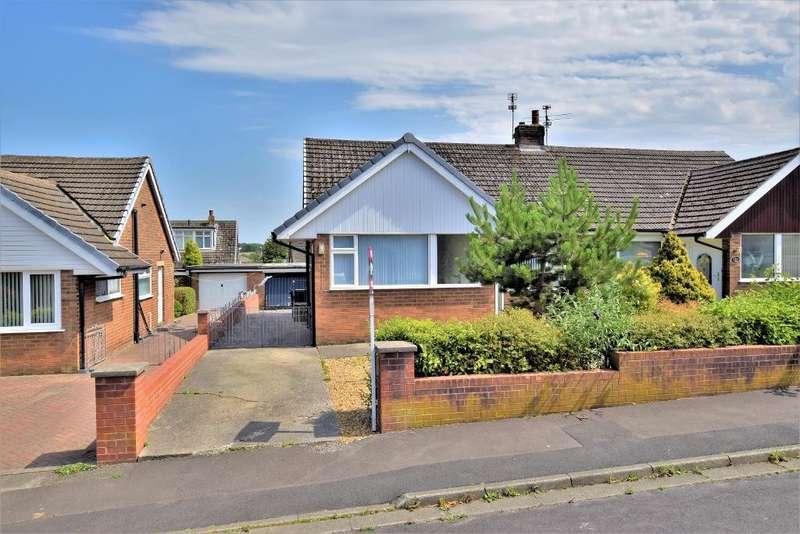 2 Bedrooms Semi Detached Bungalow for sale in Tebay Avenue, Kirkham
