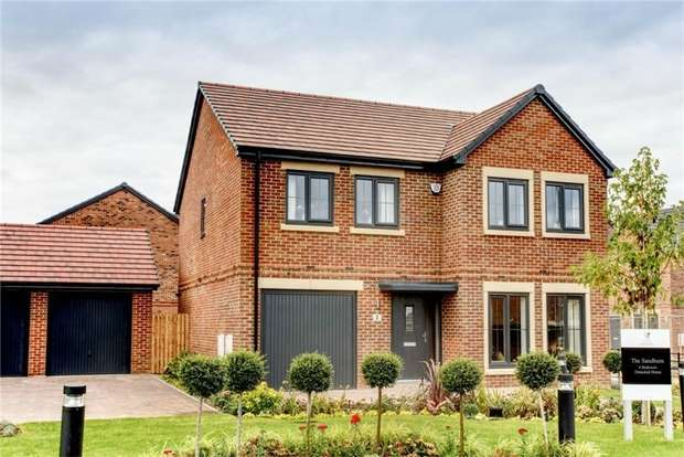 4 Bedrooms Detached House for sale in THE SANDBURN - LUXURY SHOW HOMES LAUNCHED, Salters Lane, Sedgefield, Durham