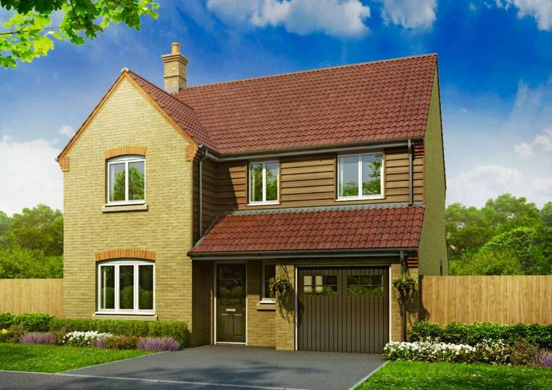 4 Bedrooms Detached House for sale in Plot 130 The Carrington, Oakley Rise