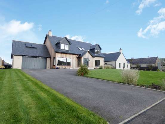 4 Bedrooms Detached House for sale in Leanach, Alford, Aberdeenshire, AB33 8ES