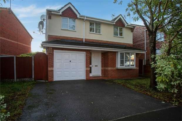 4 Bedrooms Detached House for sale in Fox Covert Way, Crewe, Cheshire